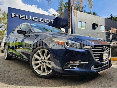 Mazda 3 Sedan i Sport usado (2018) color Azul precio $249,900