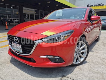 Mazda 3 Sedan s Grand Touring Aut usado (2017) color Rojo precio $265,000