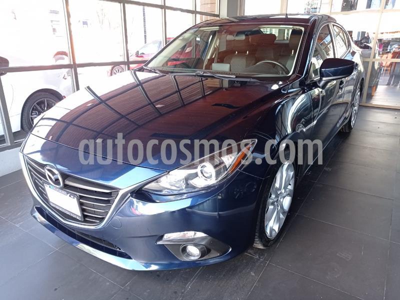 Mazda 3 Sedan s Aut usado (2016) color Azul precio $216,000