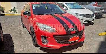 Mazda 3 Sedan s usado (2013) color Rojo precio $149,000