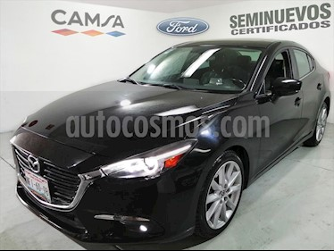 Mazda 3 Sedan s Grand Touring Aut usado (2018) color Negro precio $268,900