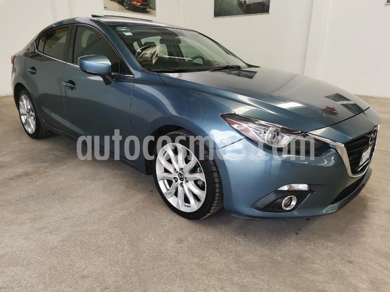 Mazda 3 Sedan i Grand Touring Aut usado (2016) color Azul precio $235,000