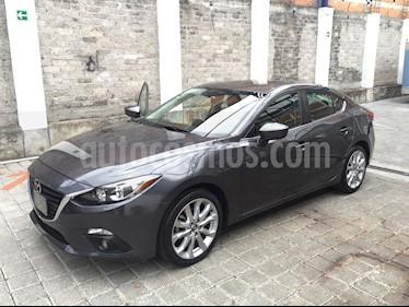 Mazda 3 Sedan s usado (2016) color Gris precio $210,000