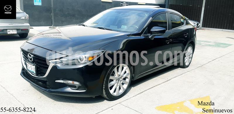 Mazda 3 Sedan s Grand Touring Aut usado (2018) color Negro precio $294,900