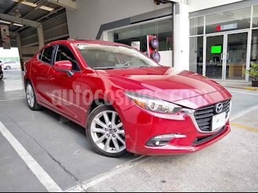 Mazda 3 Sedan s usado (2018) color Rojo precio $269,000