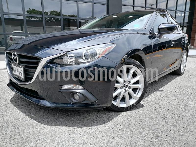 Mazda 3 Sedan i Sport usado (2015) color Negro precio $195,000