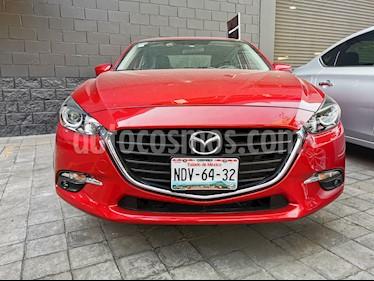 Mazda 3 Sedan i Sport usado (2017) color Rojo precio $250,000