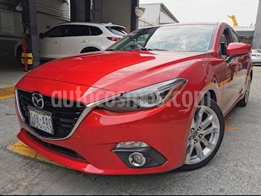 Mazda 3 Sedan s Grand Touring Aut usado (2015) color Rojo precio $205,000