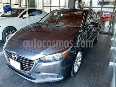 Mazda 3 Sedan s Aut usado (2017) color Gris Titanio precio $214,000