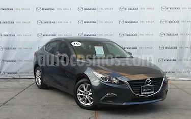 Mazda 3 Sedan i Touring Aut usado (2016) color Gris Meteoro precio $249,000