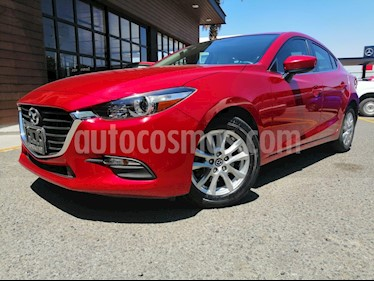 Mazda 3 Sedan i Touring Aut usado (2017) color Rojo precio $230,000