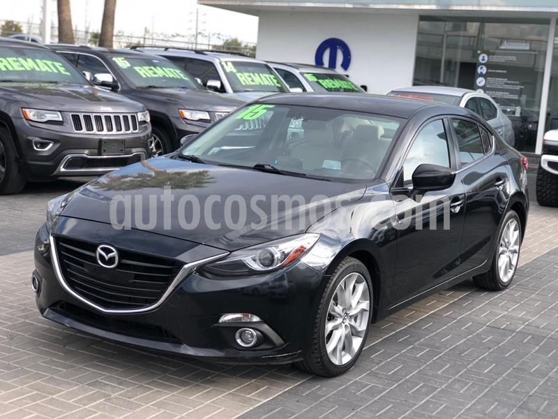 Mazda 3 Sedan s Grand Touring Aut usado (2015) color Negro precio $220,000