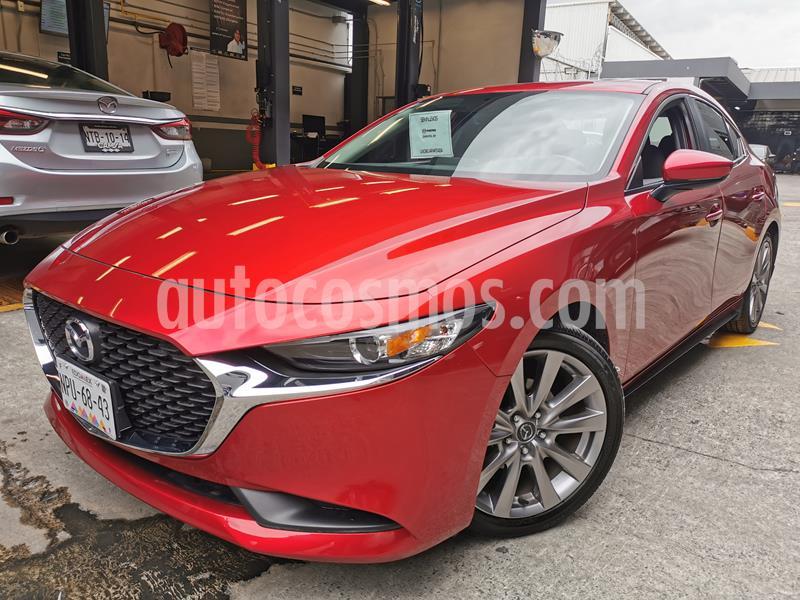 Mazda 3 Sedan I Sport Aut usado (2020) color Rojo precio $340,000