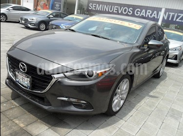 Foto Mazda 3 Sedan i Grand Touring Aut usado (2017) color Gris Titanio precio $315,000