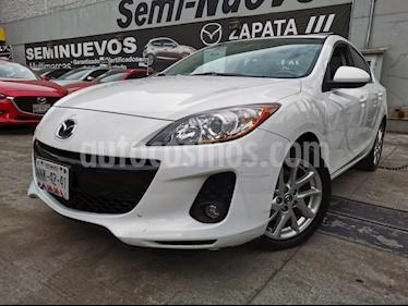 Mazda 3 Sedan I Sport Aut usado (2013) color Blanco Perla precio $155,000