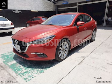 Mazda 3 Sedan s Grand Touring Aut usado (2018) color Rojo precio $309,900