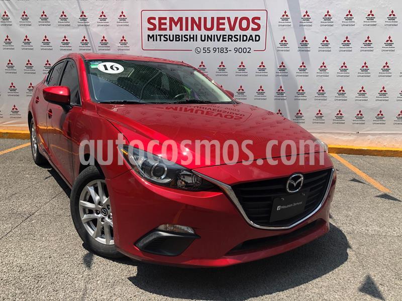 Mazda 3 Sedan i Touring usado (2016) color Rojo precio $198,000