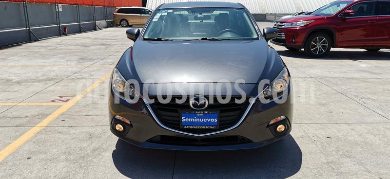 Mazda 3 Sedan s Aut usado (2016) color Gris Meteoro precio $215,000