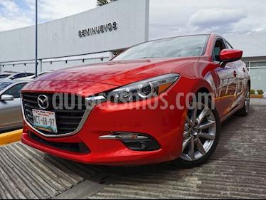 Mazda 3 Sedan s usado (2018) color Rojo precio $280,000