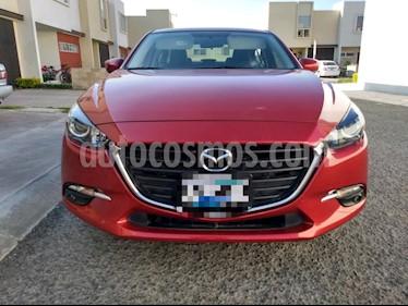 Mazda 3 Sedan s Aut usado (2018) color Rojo precio $260,000