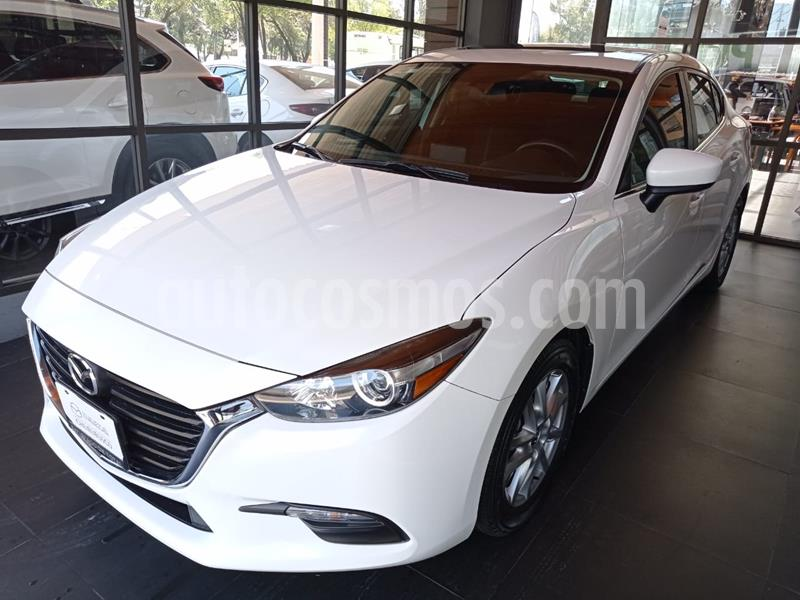 Mazda 3 Sedan i Touring usado (2017) color Blanco Perla precio $225,000
