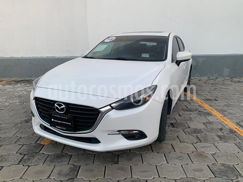 Mazda 3 Sedan s Grand Touring Aut usado (2018) color Blanco Perla precio $294,900
