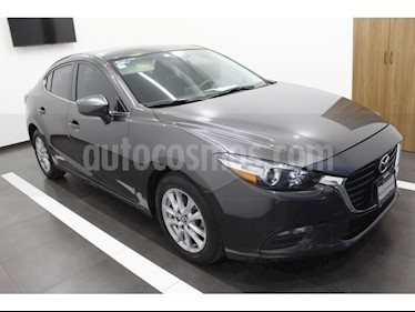 Mazda 3 Sedan s Grand Touring Aut usado (2017) color Gris Titanio precio $295,000