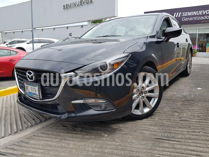 Mazda 3 Sedan s Grand Touring Aut usado (2018) color Negro precio $285,000