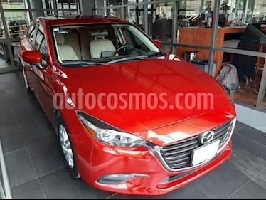 Mazda 3 Sedan i Touring usado (2017) color Rojo precio $220,000