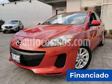 Mazda 3 Sedan i Touring Aut usado (2013) color Rojo precio $33,750