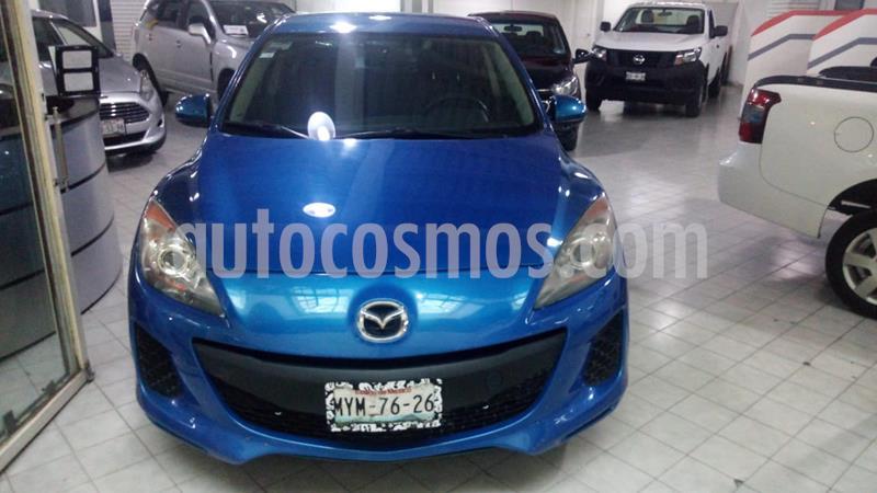 Mazda 3 Sedan i Touring Aut usado (2013) color Azul Indigo precio $138,000