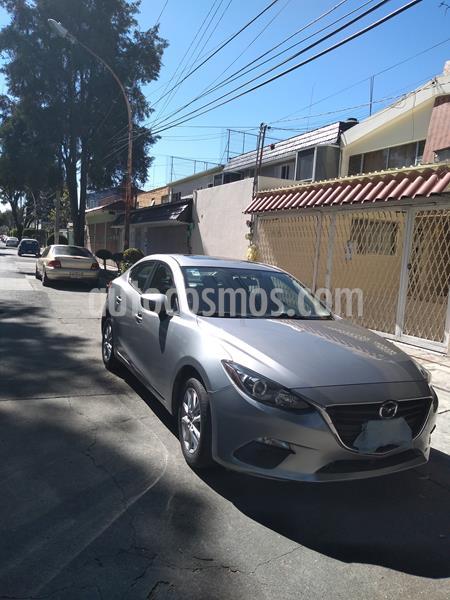 Mazda 3 Sedan i Touring Aut usado (2015) color Gris Meteoro precio $170,000