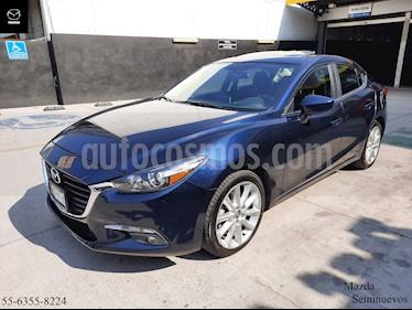 Mazda 3 Sedan s usado (2018) color Azul Marino precio $284,900