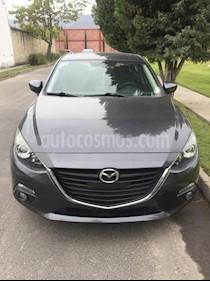Mazda 3 Sedan s usado (2015) color Gris precio $212,500