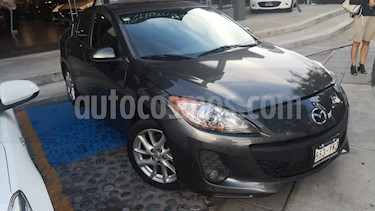 Mazda 3 Sedan s Aut usado (2012) color Grafito precio $140,000