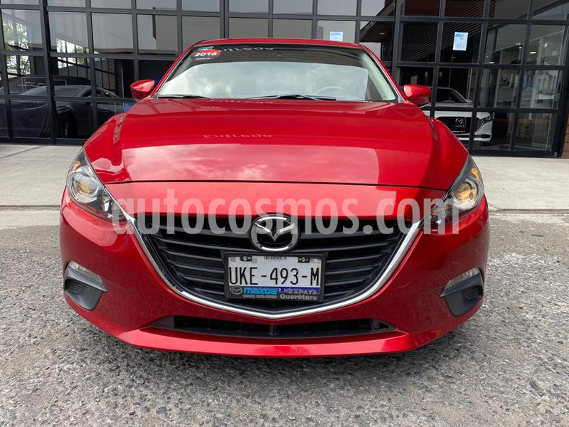 Mazda 3 Sedan i Touring usado (2016) color Rojo precio $205,000