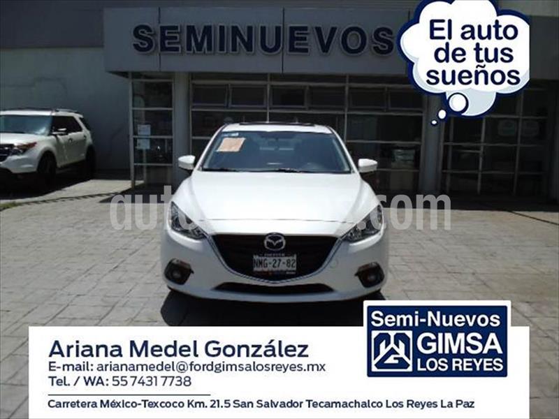 Mazda 3 Sedan i Aut usado (2016) color Blanco precio $210,000