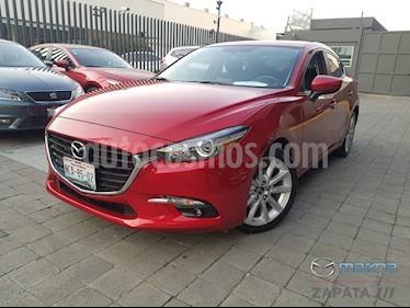 Mazda 3 Sedan s Aut usado (2018) color Rojo precio $285,000