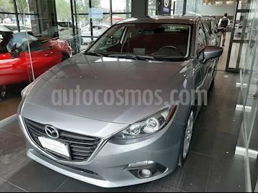 Mazda 3 Sedan s Aut usado (2016) color Gris precio $190,000