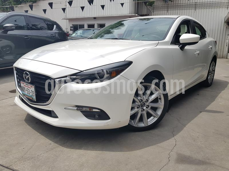 Mazda 3 Sedan s Grand Touring Aut usado (2017) color Blanco precio $250,000