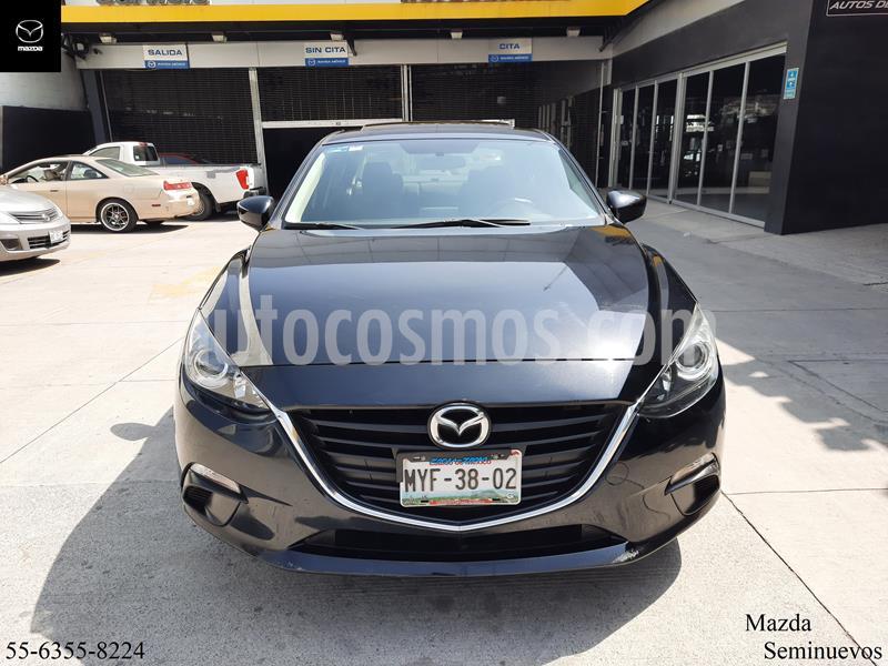 Mazda 3 Sedan i Touring Aut usado (2016) color Negro precio $219,900