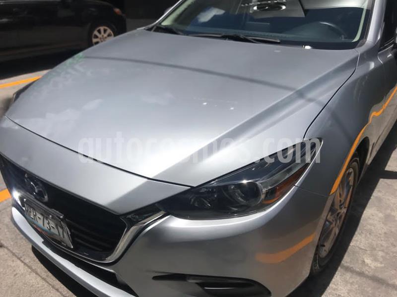 Mazda 3 Sedan i Touring usado (2017) color Plata Sonic precio $245,000