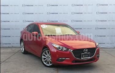 Mazda 3 Sedan s usado (2017) color Rojo precio $270,000
