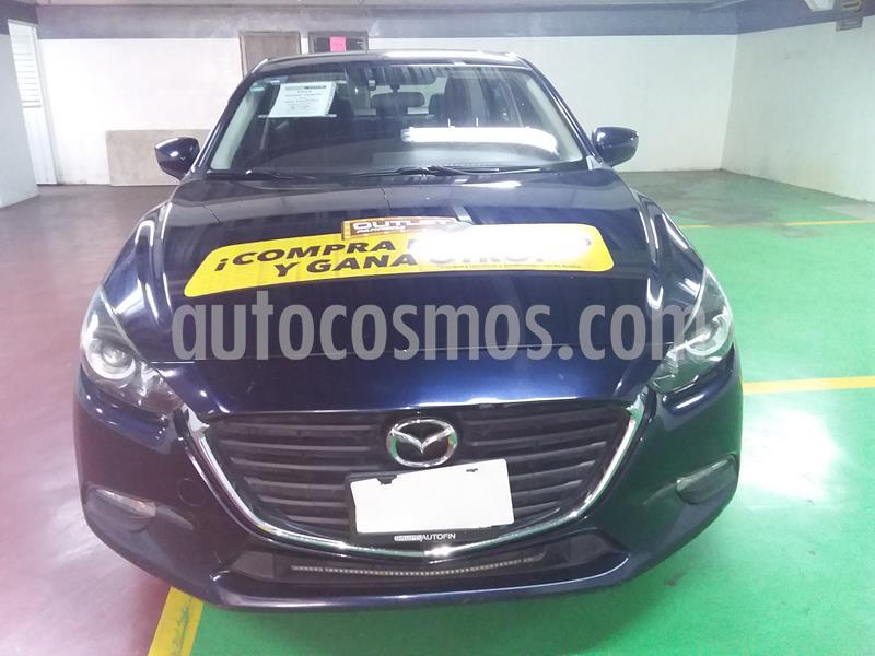Mazda 3 Sedan i Touring usado (2017) color Azul Marino precio $225,000