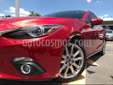 Mazda 3 Sedan s Grand Touring Aut usado (2016) color Rojo precio $220,000