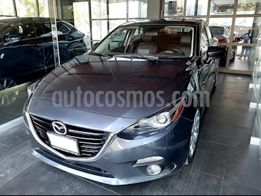 Mazda 3 Sedan s Grand Touring Aut usado (2016) color Gris Meteoro precio $234,000