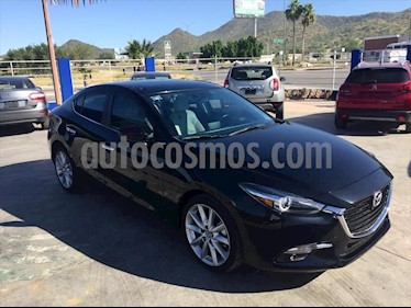 Mazda 3 Sedan s Grand Touring Aut usado (2018) color Negro precio $290,000