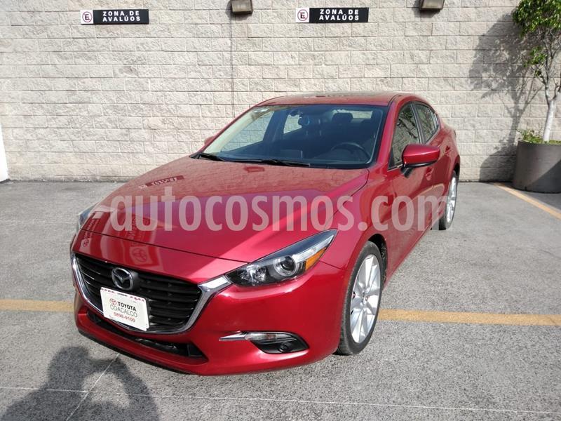 Mazda 3 Sedan s usado (2018) color Rojo precio $275,000