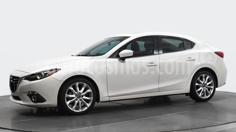Mazda 3 Sedan s Grand Touring Aut usado (2016) color Blanco precio $215,000