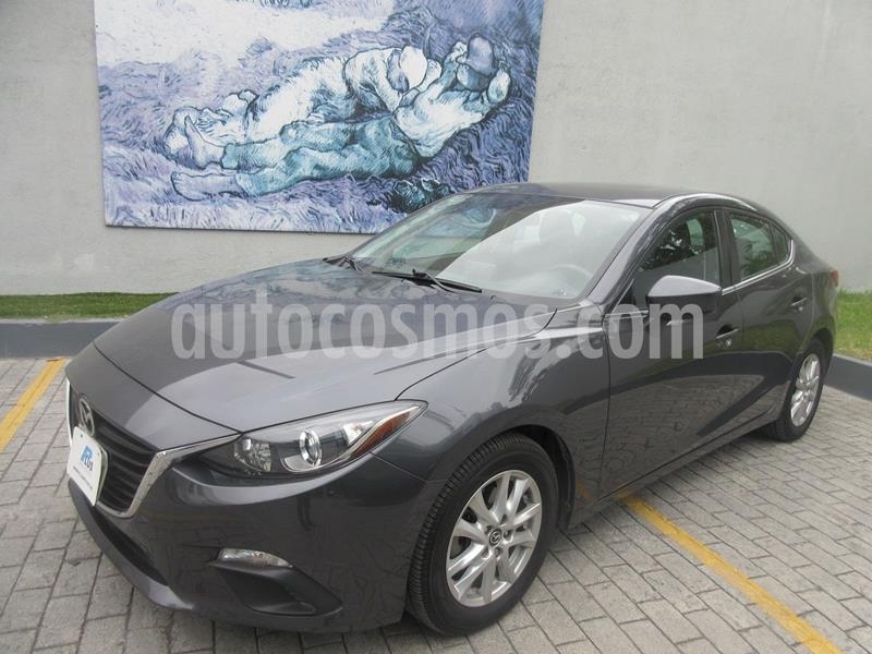 Mazda 3 Sedan i 2.0L Touring Aut usado (2015) color Gris Oscuro precio $209,900